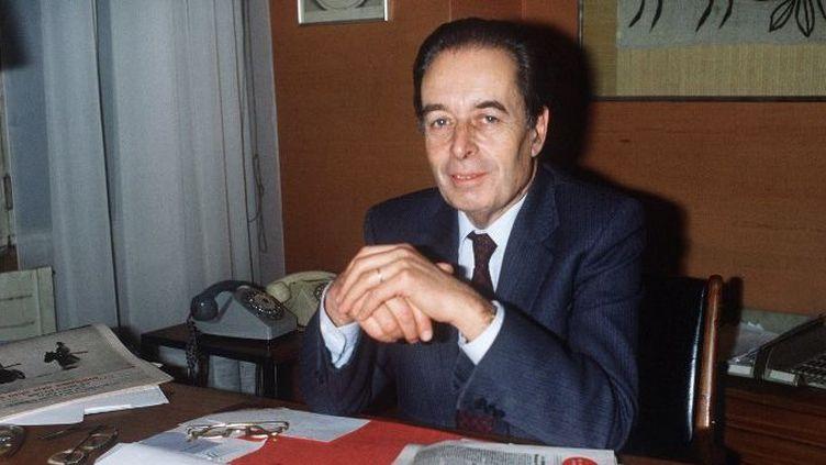 André Fontaine, ancien directeur du Monde  (AFP/PHILIPPE WOJAZER)