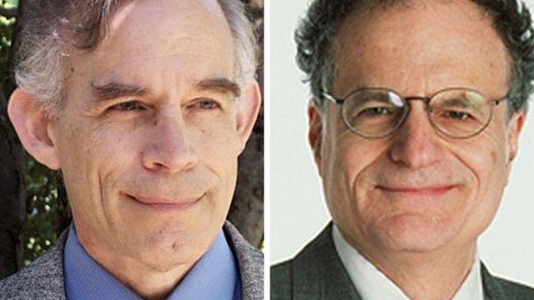 Christopher Sims à gauche et Thomas Sargent à droite.