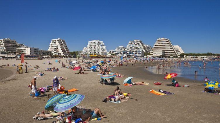 La Grande-Motte (Hérault) a décroché le Pavillon bleu pour l'année 2013. (GARDEL BERTRAND / HEMIS.FR)