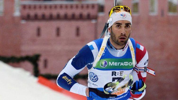 Le biathlète français, Martin Fourcade