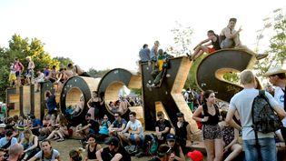 L'année dernière, la 30e édition des Eurockéennes de Belfort avait attiré 135.000 fesivaliers. (HUGO MARIE / EPA)
