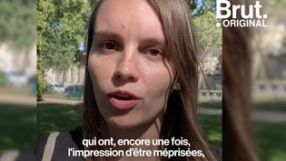"""VIDEO. """"On les voit qui pleurent"""" : Le collectif #NousToutes déplore l'insuffisance des mesures annoncées pour les femmes violentées (BRUT)"""