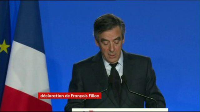 François Fillon annonce qu'il ne se retirera pas