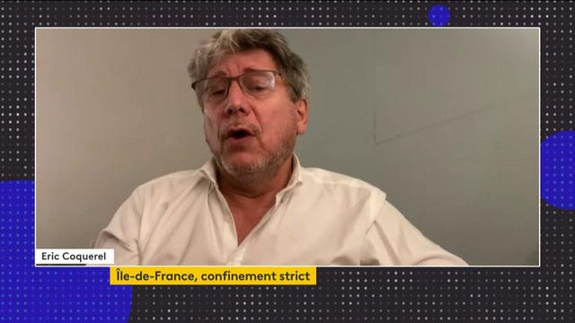 """Reconfinement de 16 départements : """"On continue à prendre des mesures qui n'en sont pas"""", déplore Éric Coquerel"""