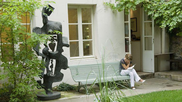 Le jardin du musée Zadkine à Paris  (Daniel Thierry / Photononstop / AFP)