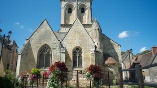Église catholiquesituée dans le village de la Celle-Guenand, dans le centre de la France (le 26 août 2018) (GUILLAUME SOUVANT / AFP)