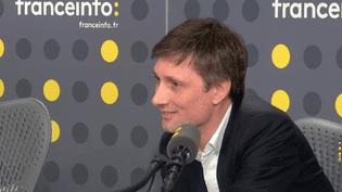 Olivier Luquet est le directeur général de la banque en ligne ING Direct (RADIO FRANCE / CAPTURE D'ECRAN)