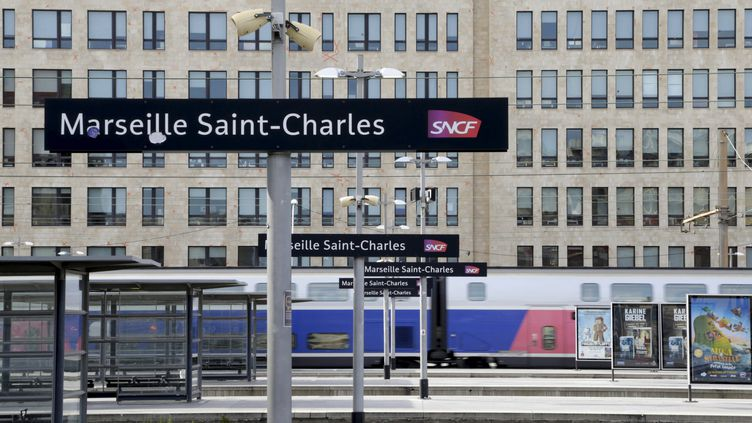 La gare de Marseille-Saint-Charles, illustration. (VALÉRIE VREL / MAXPPP)