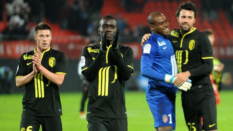 Vincent Enyeama est désormais invaincu depuis 945 minutes en Ligue 1. (FRANCOIS LO PRESTI / AFP)
