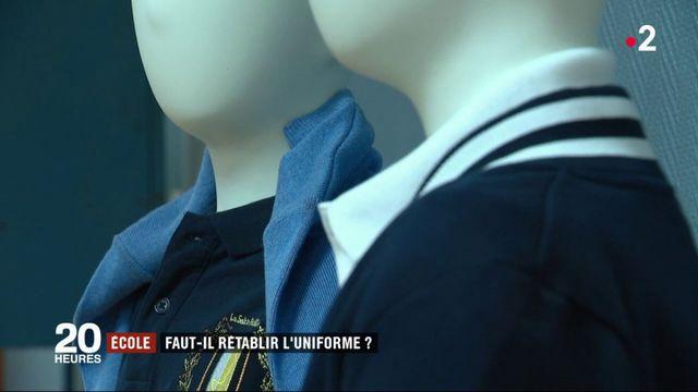 Ecole : faut-il rétablir l'uniforme ?