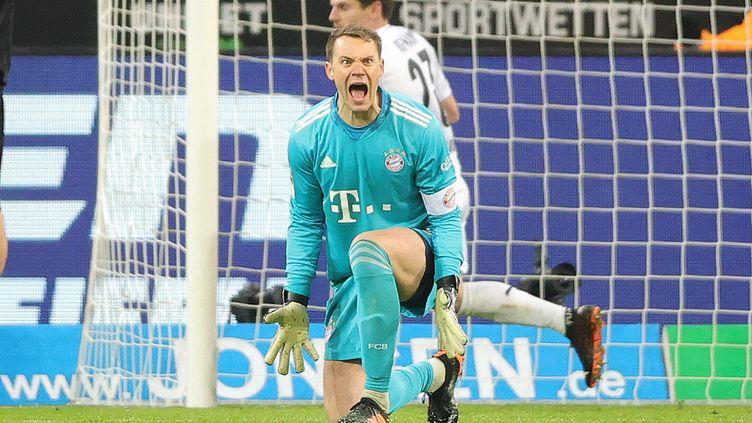 Manuel Neuer furieux de voir son équipe perdre le fil de la rencontre. (RALF IBING / AUGENKLICK/FIRO SPORTPHOTO)