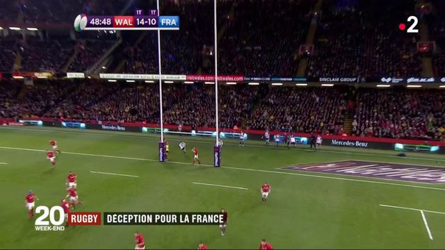 Rugby : déception pour la France