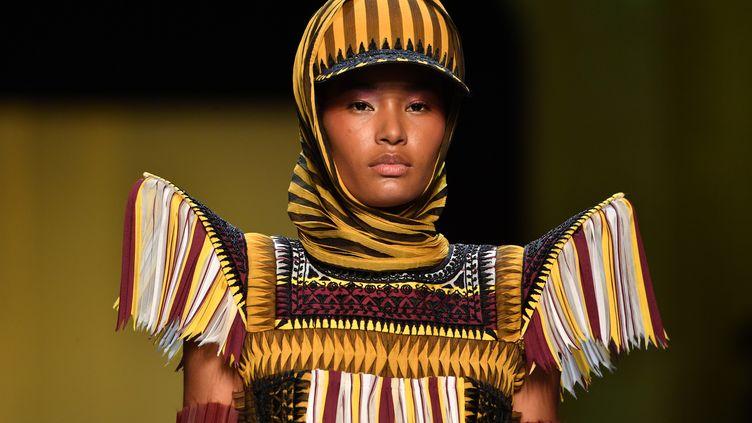 Défilé haute couture Jean Paul Gaultier printemps-été 2019 à la semaine de la mode, le 23 janvier 2019 (PASCAL LE SEGRETAIN / GETTY IMAGES EUROPE)