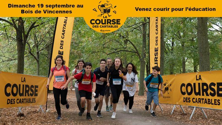 La course des cartables (© Aurélie Miquel)