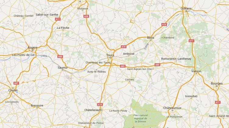 Deux collèges à Tours (Indre-et-Loire) imposent aux élèves des bracelets affichant leurs comportements. (GOOGLE MAPS)
