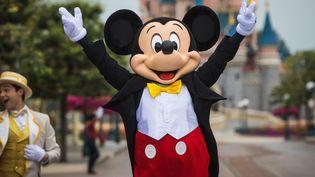 Disneyland Paris rouvre ses portes après plus de sept mois d'arrêt. (CHRISTOPHE PETIT TESSON / MAXPPP)