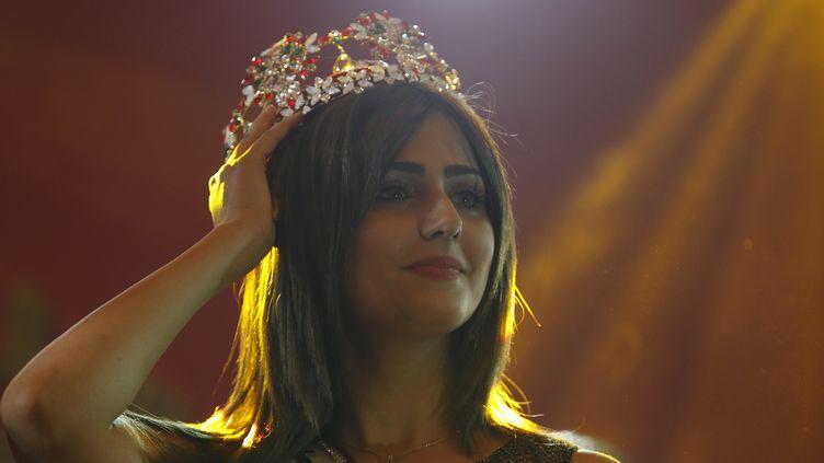 Shaymaa Qassim Abdelrahman est élue Miss Irak à Bagdad, le 19 décembre 2015. (AHMED SAAD / REUTERS)