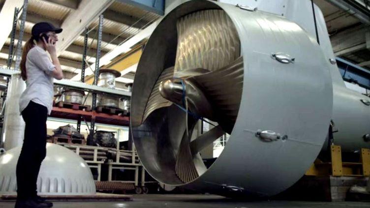 Capture d'écran d'une vidéo commerciale de General Electric Europe, publiée sur YouTube le 16 juin 2014. (GE EUROPE / YOUTUBE)