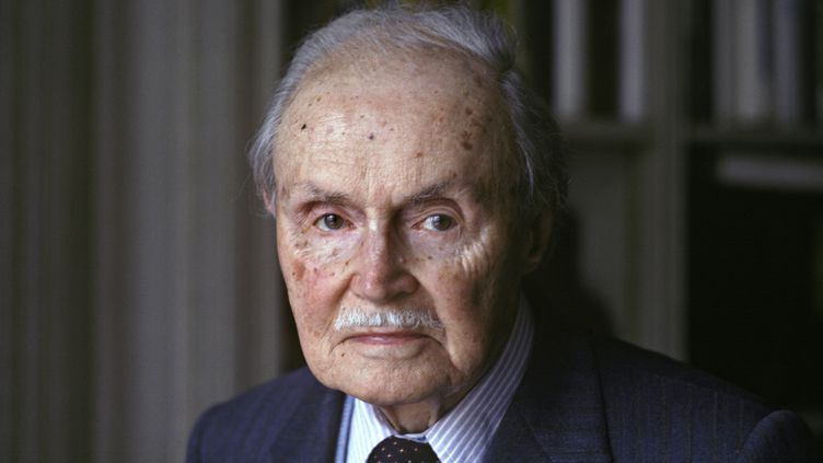 L'écrivain Maurice Genevoix, en 1979, un an avant sa mort. (ULF ANDERSEN / ULF ANDERSEN)