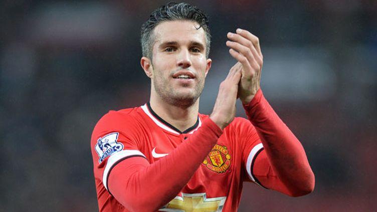 L'attaquant de Manchester United, Robin Van Persie