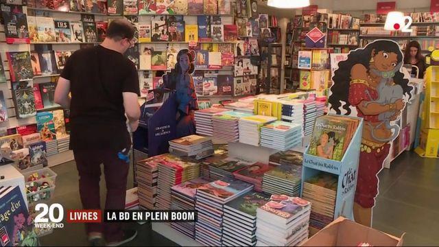 Livres : la BD en plein boom