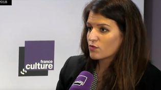 Marlène Schiappa était l'invitée de France Culture mercredi 10 janvier. (RADIO FRANCE)