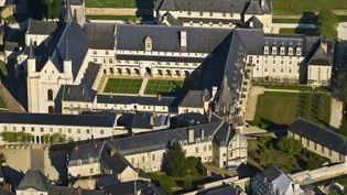Vue aérienne de l'Abbaye de Fontevraud  (Emilie Chaix/Photononstop)