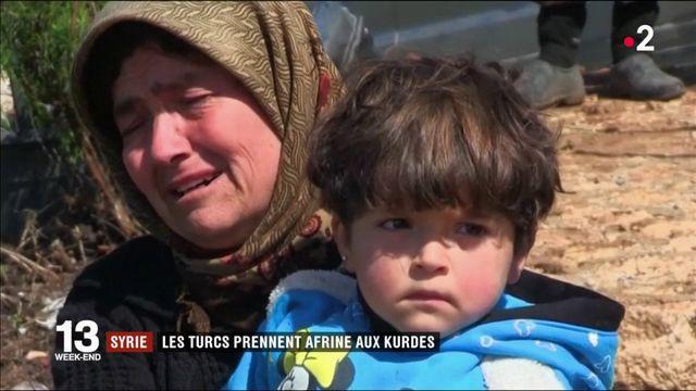 Syrie : les Turcs prennent Afrine aux Kurdes