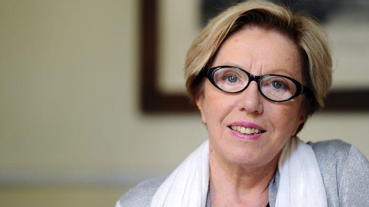 Danièle Sallenave, en avril 2011. (MIGUEL MEDINA / AFP)
