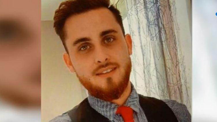 Adrien Perez, le jeune homme poignardé samedi 28 juillet 2018 près de Grenoble (Isère). (FRANCE 3)
