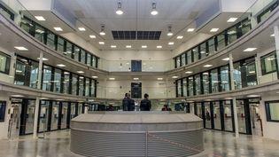 Vue de la nouvelle prison de Beveren (Belgique), le 14 février. (JONAS ROOSENS / BELGA MAG)