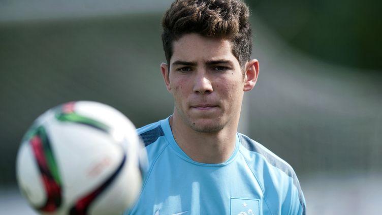 Luca Zidane, la gloire de son père ? (STR / AFP)