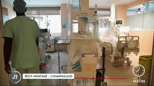 Dans un hôpital de Guadeloupe. (France 2)