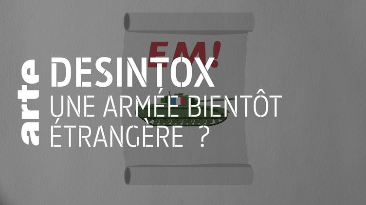 Désintox. Non, la République En Marche ne prévoit pas de supprimer l'armée française au profit d'une défense européenne. (ARTE/LIBÉRATION/2P2L)