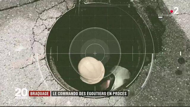 Braquage : le commando des égoutiers en procès à Bordeaux