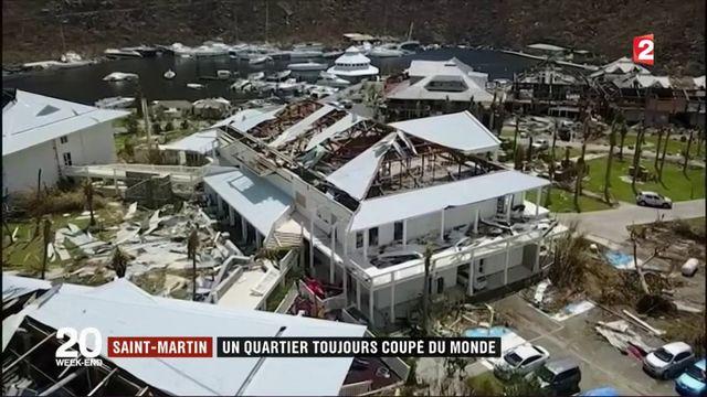 Saint-Martin : un quartier toujours coupé du monde