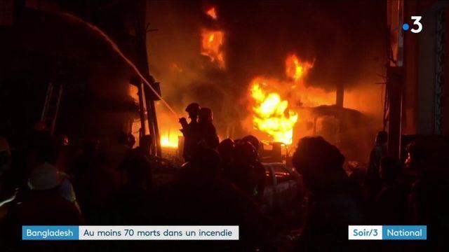 Bangladesh : au moins 70 morts dans un incendie à Dacca