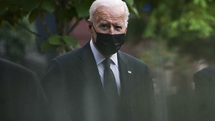 Le président Joe Biden à Washington le 29 août 2021. (ANDREW CABALLERO-REYNOLDS / AFP)