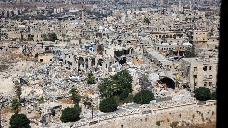 LA PHOTO. Syrie: Alep une ville en ruines