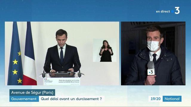 Conférence de presse d'Olivier Véran : pas de nouvelles restrictions pour les 16 départements classés ''rouge''