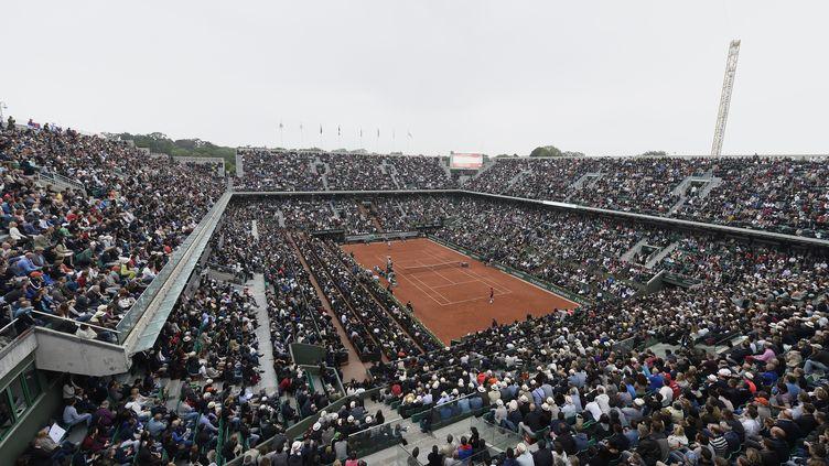 Le court central Philippe Chartrier à Roland-Garros (JMH / DPPI MEDIA)
