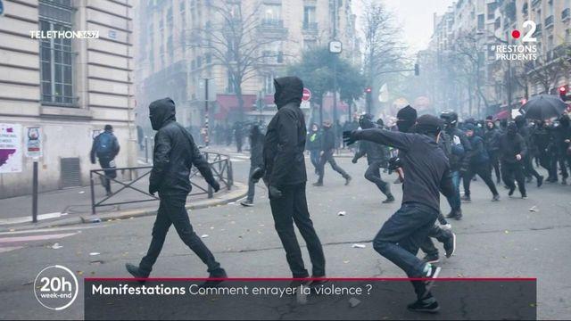 Manifestations : plusieurs pistes pour enrayer la violence