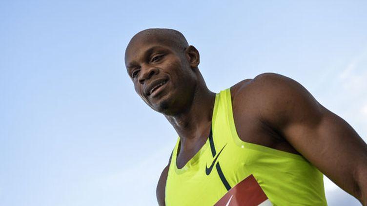 Le sprinteur jamaïcain Asafa Powell