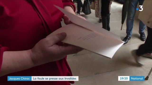 Hommage populaire : une foule immense pour saluer la mémoire de Jacques Chirac