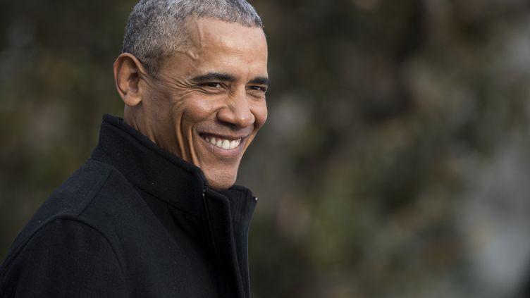 Le président américain sortant, Barack Obama, le 7 janvier 2017 à la Maison Blanche, à Washington (Etats-Unis). (SHAWN THEW / DPA)