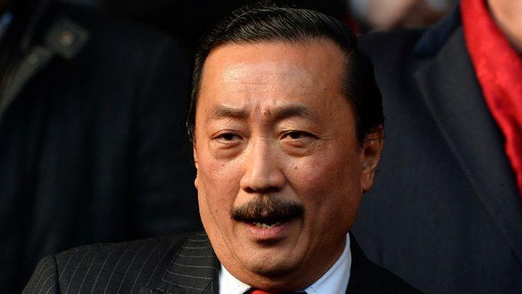 Vincent Tan, le président de Cardiff City (PAUL ELLIS / AFP)