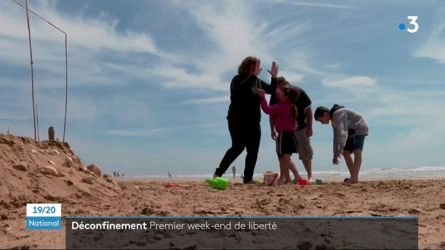 Déconfinement : un premier week-end de liberté au soleil