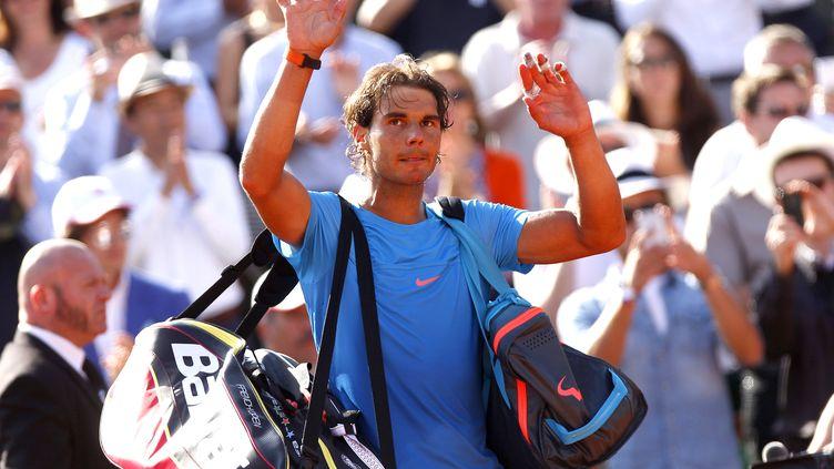Rafael Nadal quitte Roland-Garros (ELLA LING / BACKPAGE IMAGES LTD)