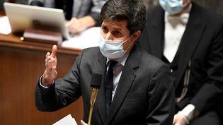 Le ministre de l'Agriculture, Julien Denormandie, le 17 novembre 2020 à Paris. (BERTRAND GUAY / AFP)