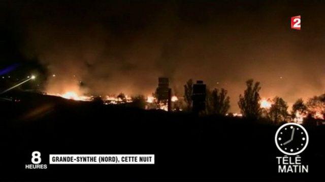 Grande-Synthe : le camp de migrants ravagé par un incendie